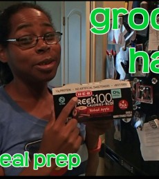 Video: Grocery haul and a lazy meal prep