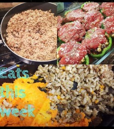 WIAW: This week's eats and the leftover