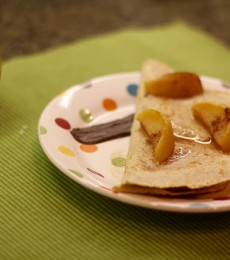 Recipe: The Apple Quesadilla