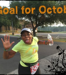 One goal for October