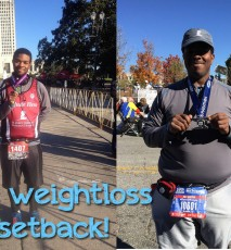 Setbacks of weight loss