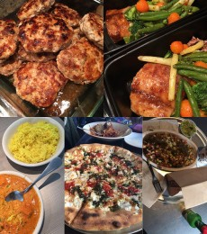 Hiding unhealthy choices and back on meal prep
