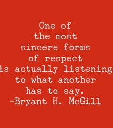 Thinking out loud about words and respect