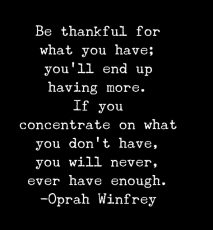 Motivation Monday: Concentrate on what you have