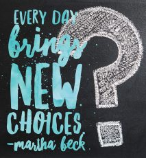 Make some choices