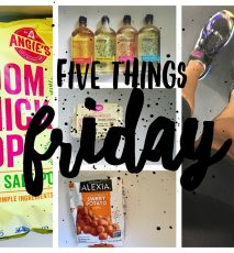 Five Things Friday: self care edition