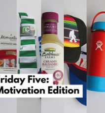 Friday Five (on Saturday): Motivation Edition